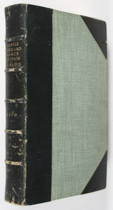 Travels in England, France, Spain, and the Barbary States, in the Years 1813-14 and 15
