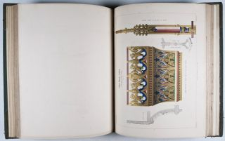 Gothic Ornaments, Being a Series of Exemples of Enriched Details and Accessories of the Architecture of Great Britain. 2-vol. set (Complete)