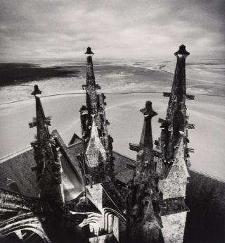 Mont St. Michel [SIGNED, WITH ORIGINAL PRINT SIGNED AND NUMBERED BY THE AUTHOR]. Michael Kenna.
