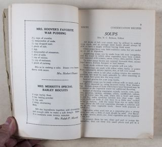 Conservation Recipes. n/a