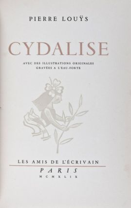 Cydalise. Pierre Louys