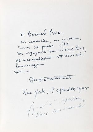 Le Serpent dans la Galère [INSCRIBED AND SIGNED BY BOTH THE AUTHOR AND THE ARTIST]