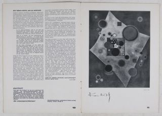 Bauhaus: Vierteljahr-Zeitschrift für Gestaltung Nr. 1-2-3-4, Jahrgang III (4 issues, 1929 complete) [THREE ISSUES FROM THE PERSONAL LIBRARY OF AND SIGNED BY IWAO YAMAWAKI]