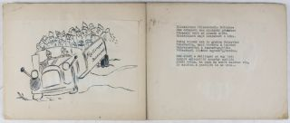 Illustrated Poetic Diary of a Jewish Hungarian forced to Labor Service during WWII