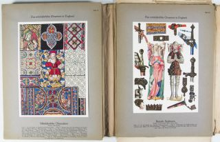Das farbige Ornament aller historischen Stile Abt. 2. Das Mittelalter (The Colored Ornament of All Historical Styles, 2nd Part: The Middle Ages)
