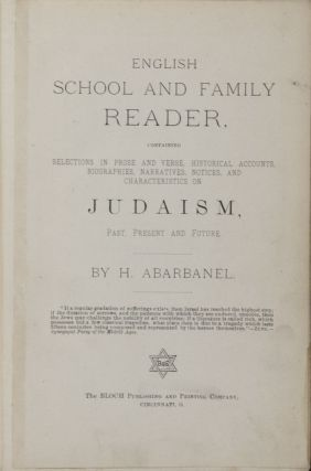 English School and Family Reader, Containing Selections in Prose and Verse, Historical Accounts,...