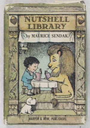 The Nutshell Library: One was Johnny; Alligators All Around; Pierre; Chicken Soup with Rice. 4-vol. set (Complete). Maurice Sendak.