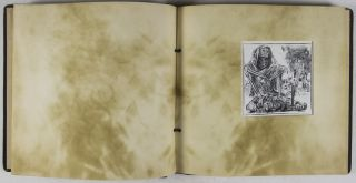 Der Rote Totentanz. Red Death Dance [SIGNED ORIGINAL SUITE OF WODD ENGRAVINGS]