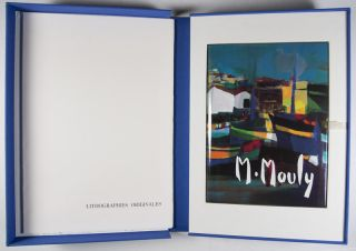 Marcel Mouly with Commemorative Suite of Four Color Lithographs [SIGNED]