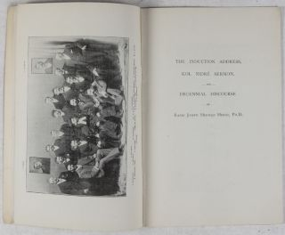 Souvenir of the Decennial Celebration of the Witwatersrand Old Hebrew Congregation, ... and of the Public Reception of the Rev. Dr. Joseph Herman Hertz, November 16th, 1898