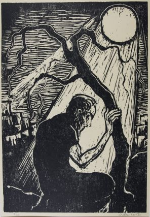 Ten Biblical Woodcuts [SIGNED AND NUMBERED BY THE ARTIST]. Jakob Steinhardt, Jacob.