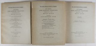 Starrs and Jewish Charters Preserved in the Jewish Museum. 3 Vol- set (Complete)