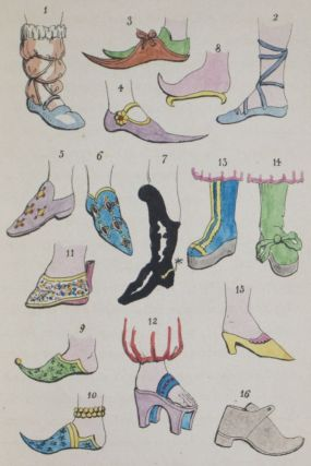 The Book of the Feet, A History of Boots and Shoes, With Illustrations of the Fashions of the...