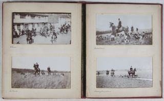 East Kent Hunt (Fox Hunting) [WITH 24 ORIGINAL SILVER GELATIN PHOTOGRAPHS]