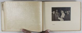 Photo-Album of Adolf Hitler with German Olympic medalists [WITH ORIGINAL SILVER-GELATIN PRINTS]