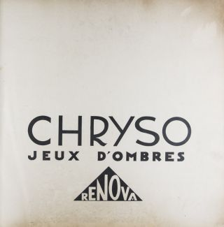 Chryso: Jeux d'Ombres - Wallpaper Special Line [ORIGINAL COLOR-SCREEN PRINTING WITH OVER-PRINTING]