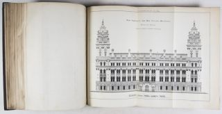 The Building News. 2-vol. set [WITH 456 ARCHITECTURAL PLATES, INCLUDING MANY FOLDED]