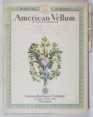 American Vellum: An Eagle-A Product. n/a.