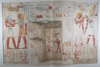The Temple of King Sethos I at Abydos (complete in 4 vols.) [INCLUDING 231 PLATES]