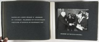 Unique Photo-Album Presented in Friendship to Ambassador and Mrs. Rolf Pauls by the President of the Weizmann Institute of Science and Mrs. Meyer W. Weisgal [SIGNED]