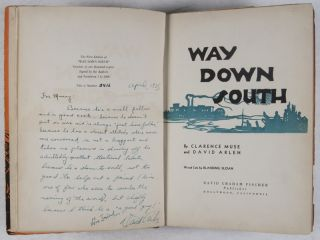 Way Down South [INSCRIBED AND SIGNED]