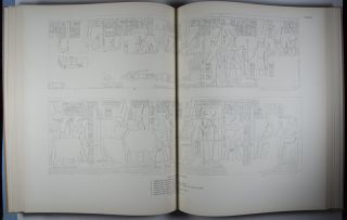 Reliefs and Inscriptions at Karnak: Volume I (Plates 1-78) Ramses III's Temple Within the Great Inclosure of Amon (Part I) [Oriental Institute Publications, Volume XXV]; Volume II (Plates 79-125) Ramses III's Temple Within the Great Inclosure of Amon (Part II) and Ramses III's Temple in the Precinct of Mut [Oriental Institute Publications, Volume XXXV]; Volume III, The Bubastite Portal [Oriental Institute Publications, Volume LXXIV]. 3-vol. set