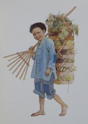 Children of China: Post-Card Painting Book. Elsie Anna Wood.
