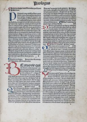 Biblia Latina [INCUNABLE]. Jerome, Johann Herbort, publisher.