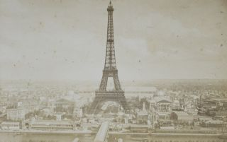Exposition Universelle de 1889 [PHOTO-ALBUM CONTAINING 50 ALBUMEN PRINTS]. n/a