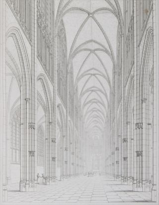 Historical and Descriptive Essays Accompaying a Series of Engraved Specimens of the Architectural Antiquities of Normandy [WITH HANDWRITTEN LETTER OF AUGUSTUS PUGIN TIPPED IN]. Augustus Pugin, John and Henry le Keux, John Britton, Subjects measured.