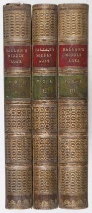 View of the State of Europe During The Middle Ages (3 vols.)