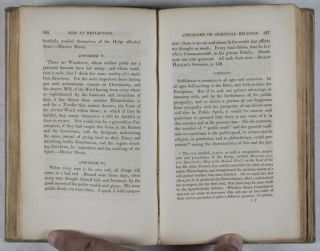 Aids to Reflection in the Formation of a Manly Character on the Several Grounds of Prudence, Morality, and Religion. Illustrated by Select Passages from our Elder Divines, Especially from Archbishop Leighton