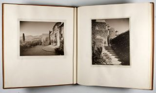 "Commemorative Architectural Photography Albums of the Clarence A. Black Estate ""El Cerrito"" on..."