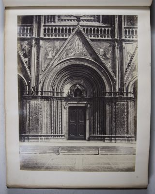 Florence [19TH-CENTURY PHOTO-ALBUM WITH 90 ALBUMEN PRINTS FROM THE FRATELLI ALINARI]