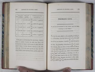 The doctrine of chances, or, The theory of gaming, made easy to every person acquainted with common arithmetic, so as to enable them to calculate the probabilities of events in lotteries, cards, horse racing, dice, &c. : with tables on chance, never before published, which from mere inspection, will solve a great variety of questions