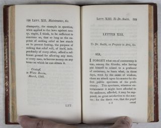 Defense of Usury; Shewing the Impolicy of the Present Legal Restraints on the Terms of Pecuniary Bargains; in Letters to a Friend. To Which is Added, A Letter to Adam Smith. Esq. LL.D. on the Discouragements Opposed by the Above Restraints to the Progress of Inventive industry, The Fourth Edition. And to Which is Added, Third Edition, A Protest Against Law-Taxes