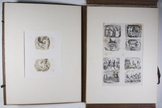 A Collection of 20 Etched Proofs by George Cruikshank [SIGNED]