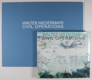 Civil Operations / Zivile Operationen [SIGNED LIMITED EDITION WITH TWO ORIGINAL COLOR PHOTOGRAPHS IN SEPARATE PORTFOLIO]