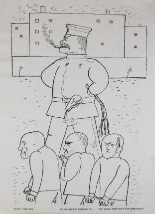 Gott mit uns [9 ORIGINAL LITHOGRAPHS]. George Grosz.