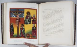 The Lives of Mabâ' Seyôn and Gabra Krestôs. The Ethiopic Texts Edited with an English Translation and a Chapter on the Illustrations of Ethiopic MSS. [WITH 92 CHROMOLITHOGRAPHS]