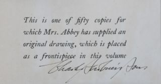 Edwin Austin Abbey Royal Academian. The Record of His Life and Work. 2 Vols. [WITH AN ORIGINAL DRAWING]