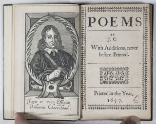 Poems by J. C. With Additions, never before Printed [BOUND WITH] A Character of a Diurnal-Maker. J. C., John Cleveland.