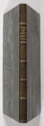 Poems by J. C. With Additions, never before Printed [BOUND WITH] A Character of a Diurnal-Maker