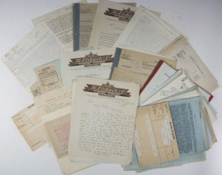 Arianization of M. Elsbach & Co. in Coburg: Correspondence and Documents