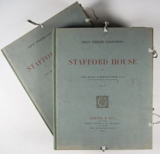 Great English Collections: Stafford House. 5 fascicules housed in 2 portfolios, as issued (Complete)