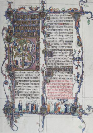The Tickhill Psalter and Related Manuscripts. A School of Manuscript Illumination in England...