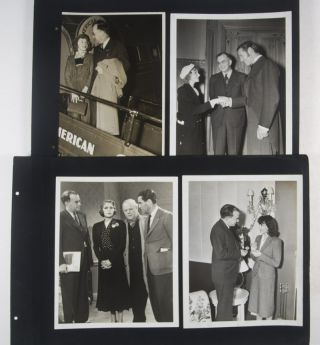 Merle Potter Photo Album and Photograph Collection featuring Hollywood Stars, Actors and Celebrities (Unique Photo Album) [SIGNED]
