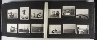 UNIQUE FULLY ANNOTATED PHOTO ALBUM WITH 718 SILVER GELATIN PRINTS AND 164 MEMORABILIA DOCUMENTING THE 6-MONTH VOLUNTARY SERVICE OF WILHELM HEYN, A GERMAN STAFF SERGEANT IN THE LEGION CONDOR DURING THE SPANISH CIVIL WAR (1936-1939)