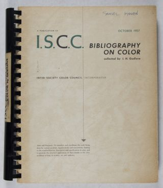 Bibliography on Color from the Inter-Society Color Council News Letter, 1936–1954. I. H....