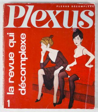 Plexus. Complete run from issue No. 1 (April/May 1966) to No. 37 (July 1970). Alex Grall, Louis...